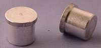 SPI Supplies Brand Hitachi Cylindrical SEM Mounts 15mm Dia x 13 mm High Lathe