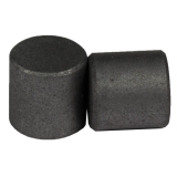 SPI Supplies Brand 3/8x3/8 in. (9.5x9.5 mm) Spectroscopically Pure Carbon SEM Mounts