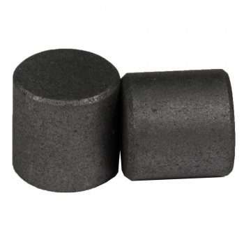 SPI Supplies Cylindrical SEM Mounts, 9.5x9.5 mm, Pure Carbon, Standard Finish