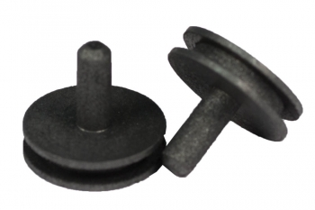 SPI Supplies Pin-Type SEM Mounts, 12.7x8 mm, Pure Carbon, Standard Finish