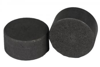 SPI Supplies Cylindrical SEM Mounts, 25.4x13 mm, Pure Carbon, Standard Finish