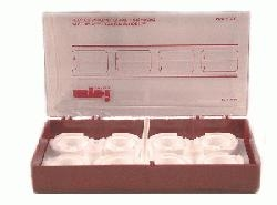 SPI-Dry Specimen Storage Box for Large Size SEM or 1in. Round Metallographic Mounts, Holds 8