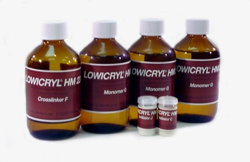 Lowicryl HM23 Non-Polar Embedding Resin Kit, Hydrophobic, 724g Total Kit