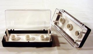 Polaron SEM Mount Storage Box, 32 mm
