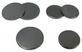SPI Supplies Brand Steel Mounting Discs for AFM Specimens, 12 mm Diameter, Pack of 100