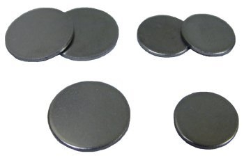 SPI Supplies Brand Steel Mounting Discs for AFM Specimens 25 mm Diameter, Pack of 100