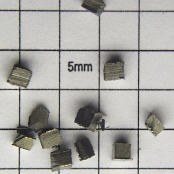 SPI Supplies Brand Standards For Microanalysis, Metals CMTaylor Scandium, Unmounted Loose Grain
