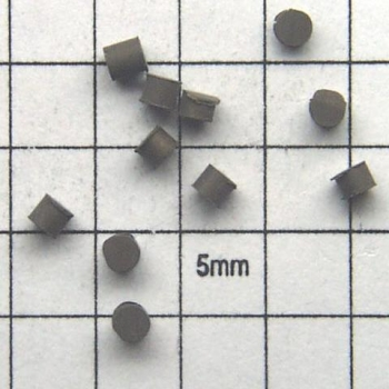 SPI Supplies Brand Standards For Microanalysis, Metals CMTaylor Molybdenum, Unmounted Loose Grain