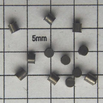 SPI Supplies Brand Standards For Microanalysis, Metals CMTaylor Tungsten, Unmounted Loose Grain