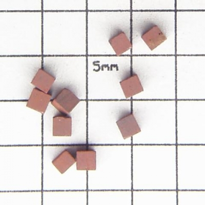 SPI Supplies Brand Standards For Microanalysis, Mineral CMTaylor Cinnabar, Unmounted Loose Grain