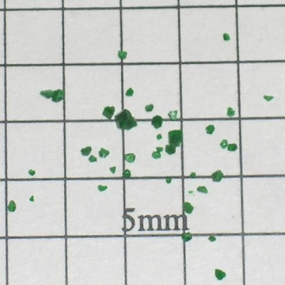 SPI Supplies Brand Standards for Microanalysis CMTaylor Uvarovite Unmounted Loose Grain