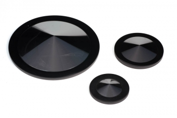 SPI-Glas™ 22 Glassy Carbon (Vitreous) Crucible Lids