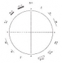 Graticules Brand Walton & Beckett Reticle for Asbestos Count, 5:1Ratio Glass Sandwhich 16mm #G24