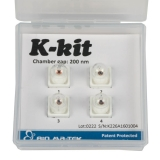 K-kit Sampler: (2) 200nm and (2) 2.0um chamber height