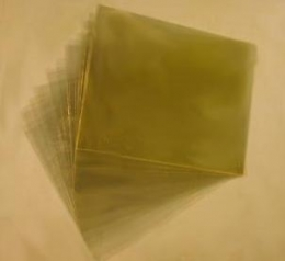 "ACLAR Film 33C, 7.8 mils thick, 10"" x 8"", Pack of 25 Sheets, CAS #9010-75-7"
