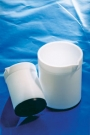 SPI Supplies Brand PTFE BlackBottom Beaker 100ml 74mmH x 56MM O.D