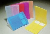 SPI Supplies Brand 2-Place Slide Mailer Assorted Colors Pack of 25 Mailers