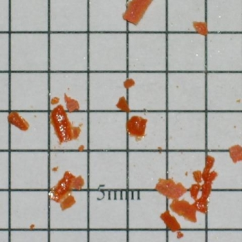 SPI Supplies Individual Loose Microanalysis Standard Item, Minerals Group, Crocoite (alternate to