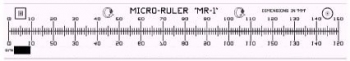 Geller Traceable Micro Ruler Model MR-1 Certified Reference Sample