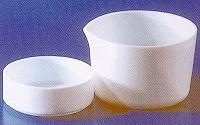 SPI Supplies Brand PTFE Evaporating Dish for Laboratory Use, Tall Form with Spout
