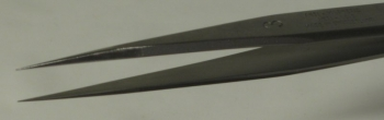 SPI-Swiss Style #3 Antimagnetic Stainless Steel Tweezer, High Precision, 110 mm long