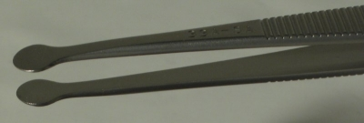 SPI-Swiss Wafer Style 33A Tweezers, Antimagnetic Stainless Steel, 112 mm