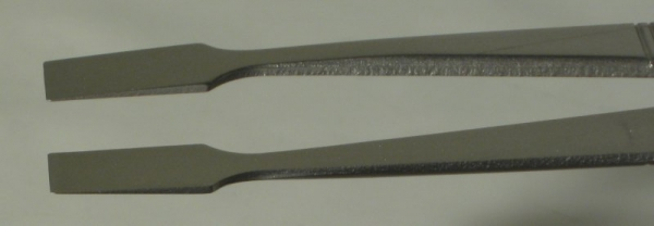 SPI-Swiss Wafer Style 34A Tweezers, Antimagnetic Stainless Steel, 127 mm