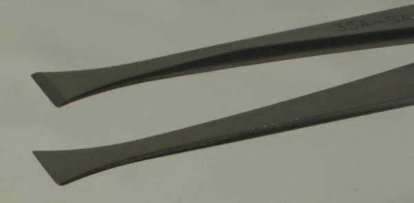 SPI-Swiss Wafer Style 35A Tweezers, Antimagnetic Stainless Steel, 121 mm