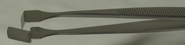 SPI-Swiss Wafer Style 3W Tweezers, Antimagnetic Stainless Steel, 125 mm