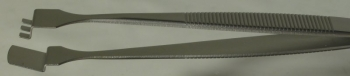 SPI-Swiss Wafer Style 3WF Tweezers, Antimagnetic Stainless Steel,125 mm
