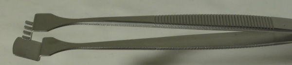 SPI-Swiss Wafer Style 4WF Tweezers, Antimagnetic Stainless Steel, 133 mm