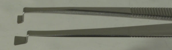 SPI-Swiss Wafer Style 85C Tweezers, Antimagnetic Stainless Steel, 121 mm