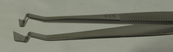 SPI-Swiss Wafer Style 86B Tweezers, Antimagnetic Stainless Steel, 121 mm
