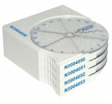 SPI Twist-A-Grid Numbered TEM Grid Storage Boxes with Record Keeping Card