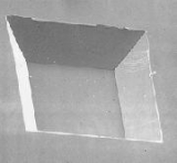 Silicon Nitride Membrane X-ray Windows 100 nm 1X1 mm Window 5 mm Sq Frames Low Stress Pack of 10
