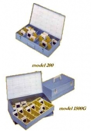 SPI Supplies Slide Storage Boxes, Metal, Model 110