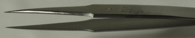 Dumont Dumoxel Style #2 Tweezer, High Precision Tips, Antimagnetic Stainless Steel, 120 mm