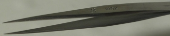 Dumont Style #3c Tweezer, High Precision Tips, INOX Stainless Steel, 110mm