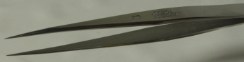 Dumont Dumoxel Style #3 Tweezer, High Precision Tips, Antimagnetic Stainless Steel, 110 mm