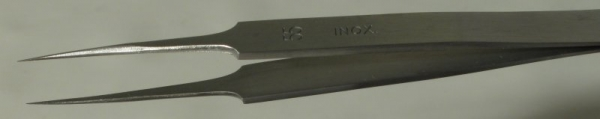 Dumont Style #55 Tweezer, High Precision Tips, INOX Stainless Steel, 110 mm