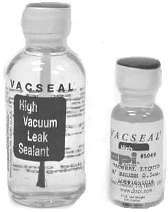 Vacseal Vacuum Leak Sealant With Brush, Original Formula Clear